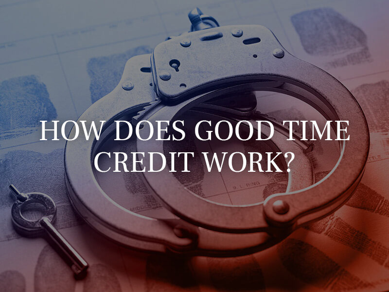 How does a good time credit work?