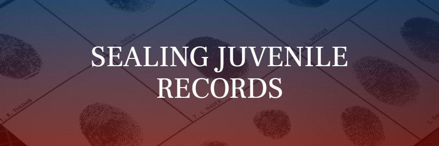 sealing juvenile records in California