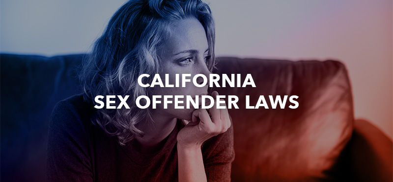 California Sex offender Laws