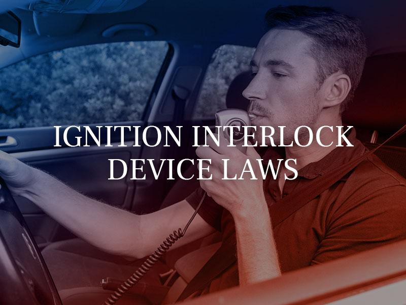 California Ignition Interlock Device Laws 2019