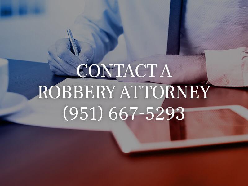 Riverside Robbery Lawyer