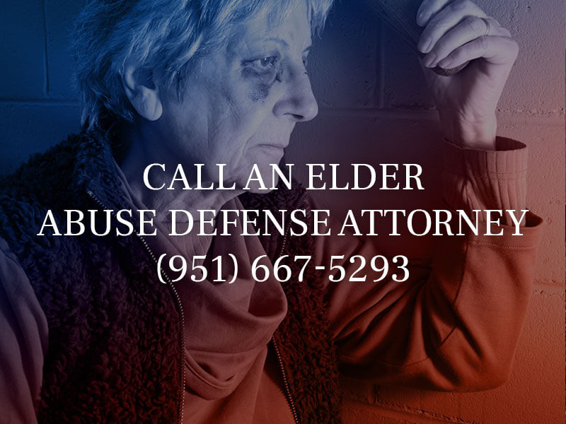 Contact a Riverside Elder Abuse Attorney