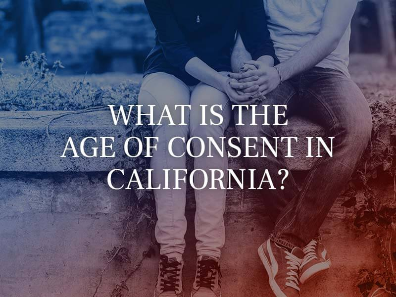 What is the age of consent in California?