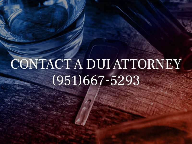 Contact a local DUI Lawyer