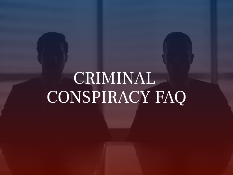 What is Criminal Conspiracy