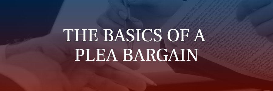 plea bargain basics