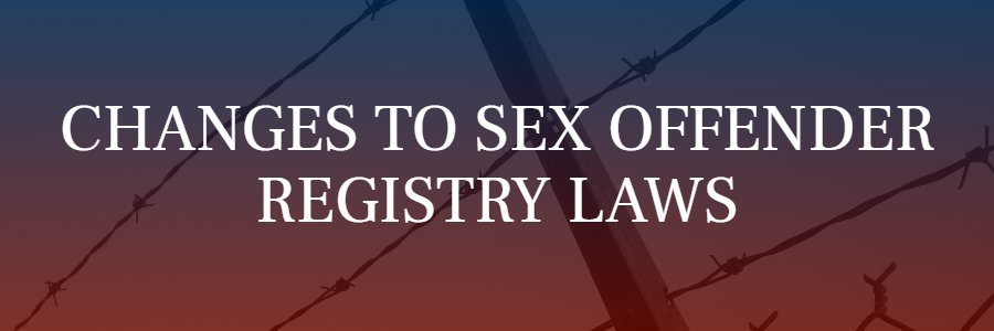 sex offender registry laws in California